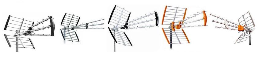 DVBT Antennák