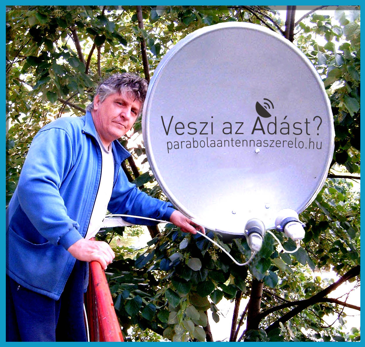Berkes László - antennaszerelő